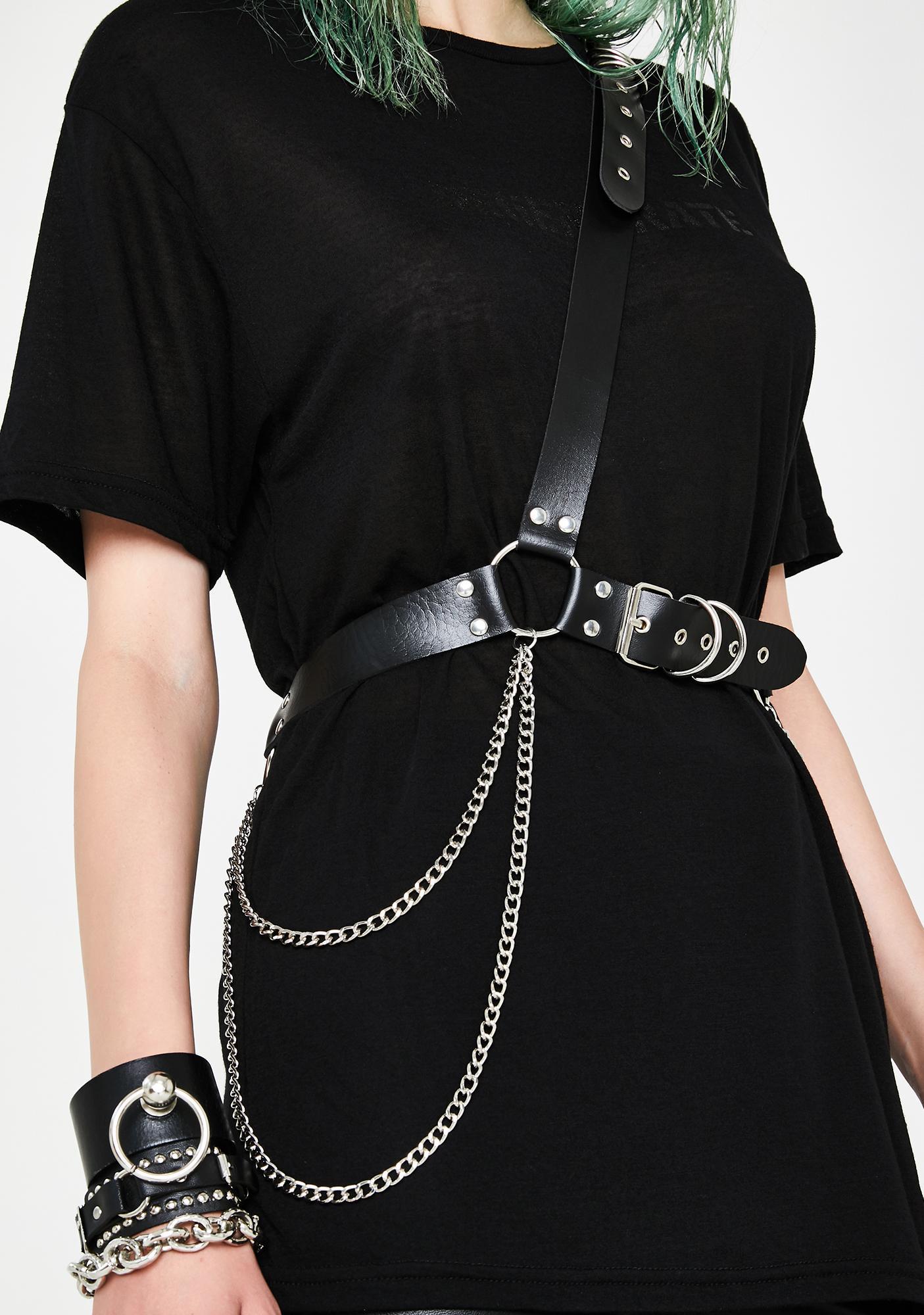 Mean Mistress Crossbody Belt