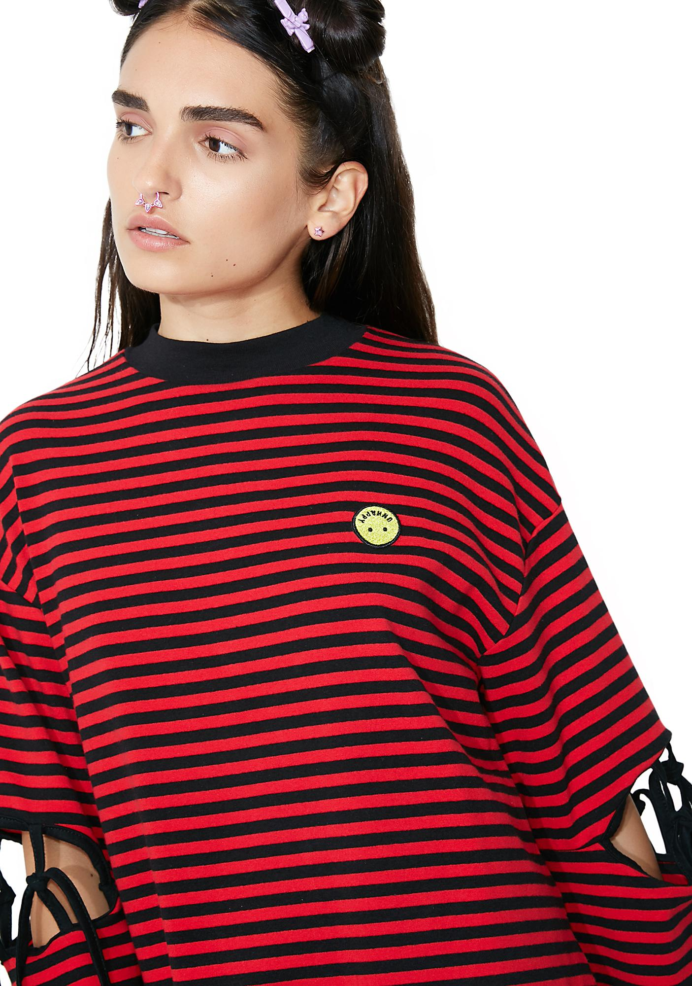 Lazy Oaf Unhappy Tied Up Tee