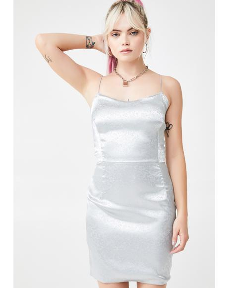 Satin Strap Slip Dress
