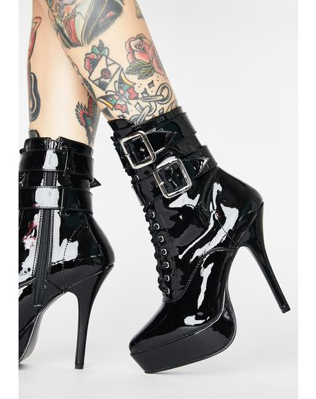 Hot Indulgence Heeled Boots
