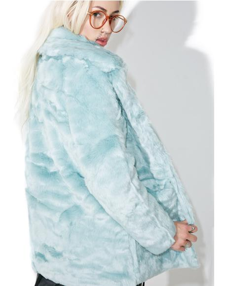 Candy Craving Faux Fur Coat