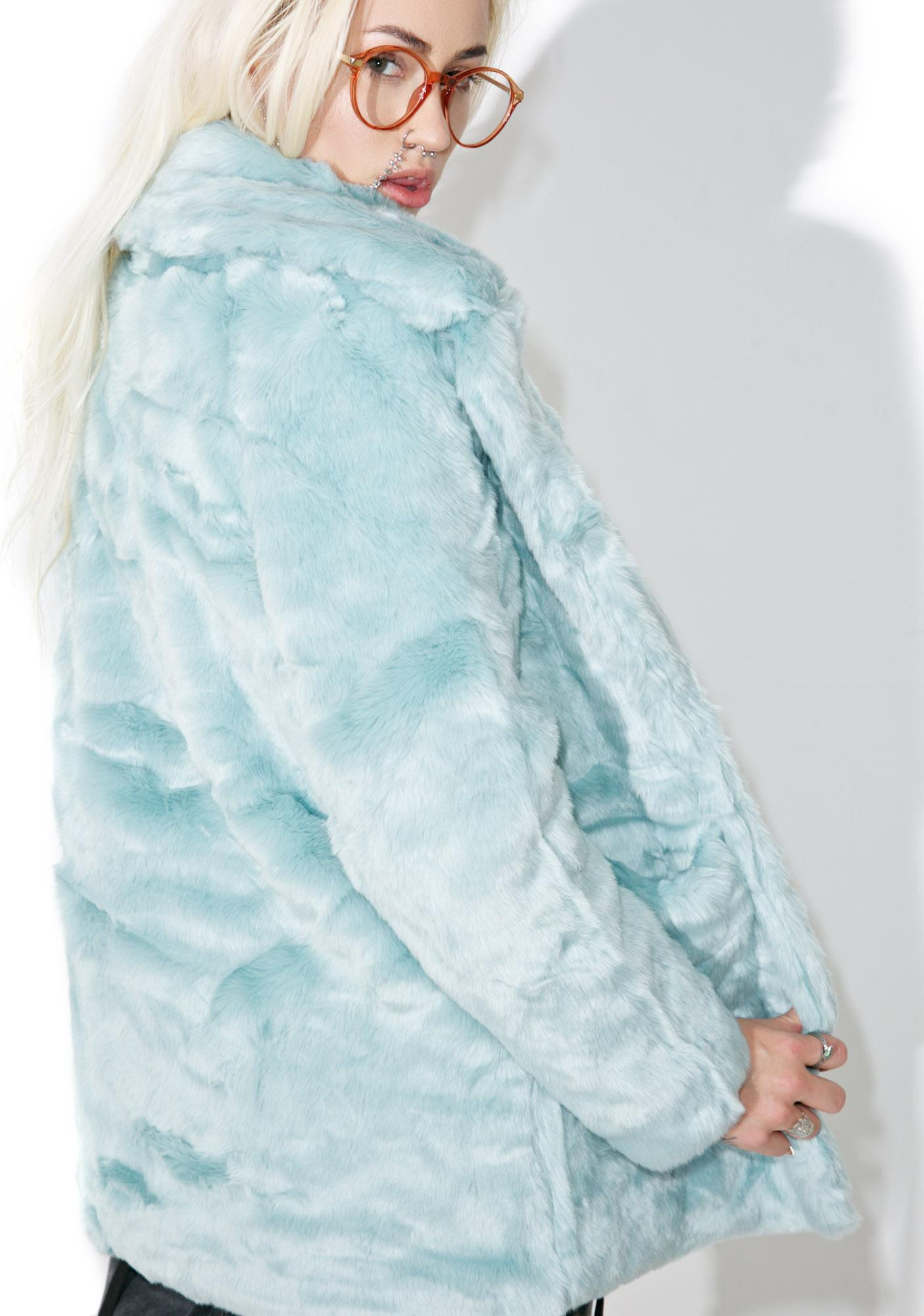 Glamorous Candy Craving Faux Fur Coat