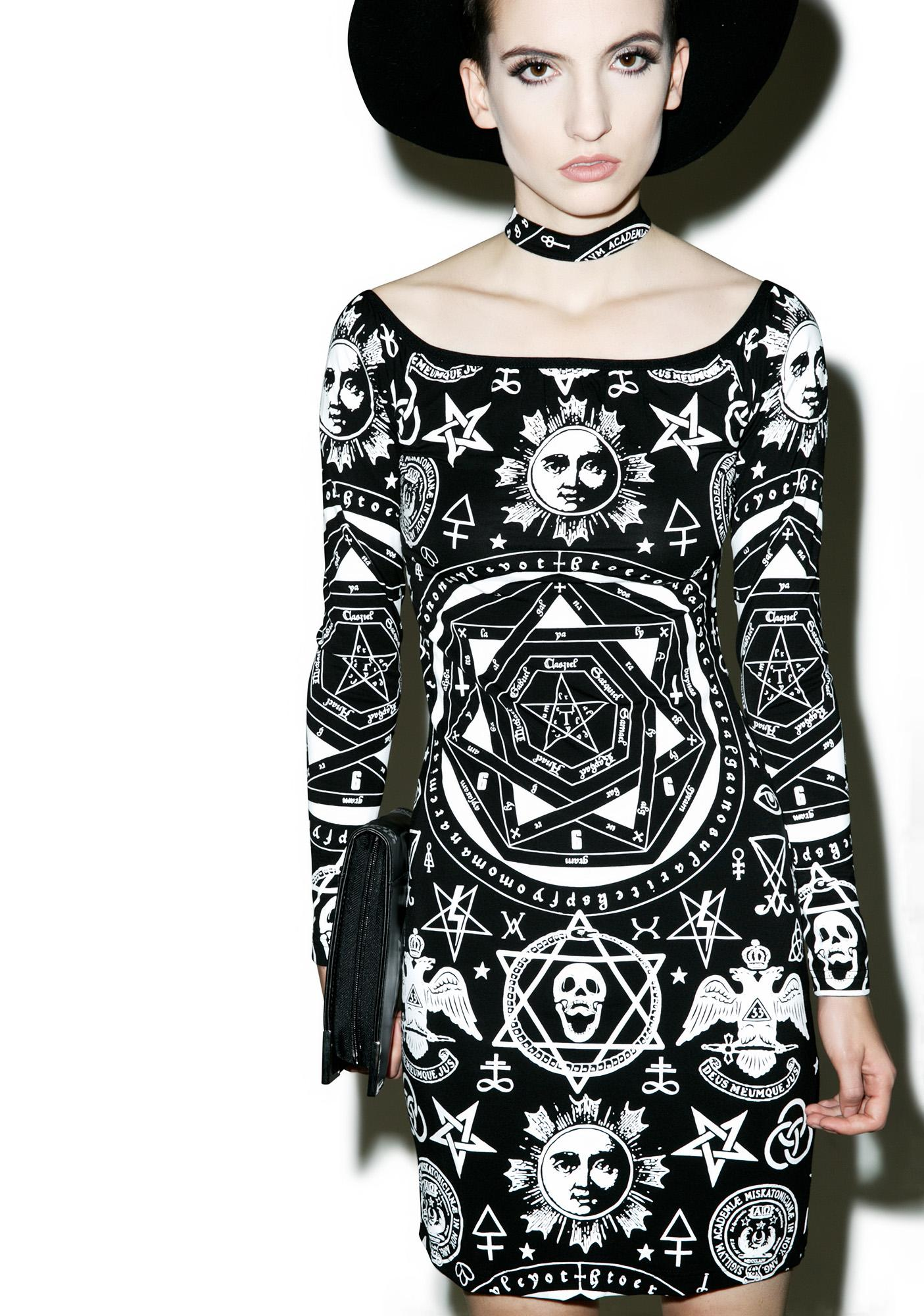 Killstar X Dolls Kill Bound Bodycon Dress