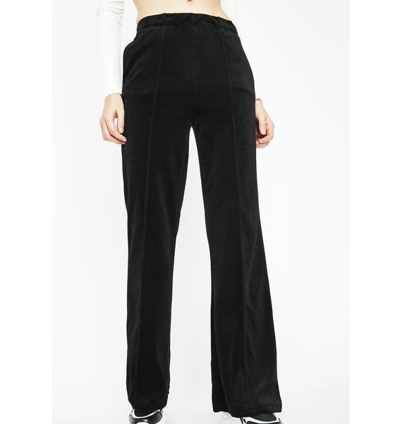 Cool Grl Attitude Velvet Pants