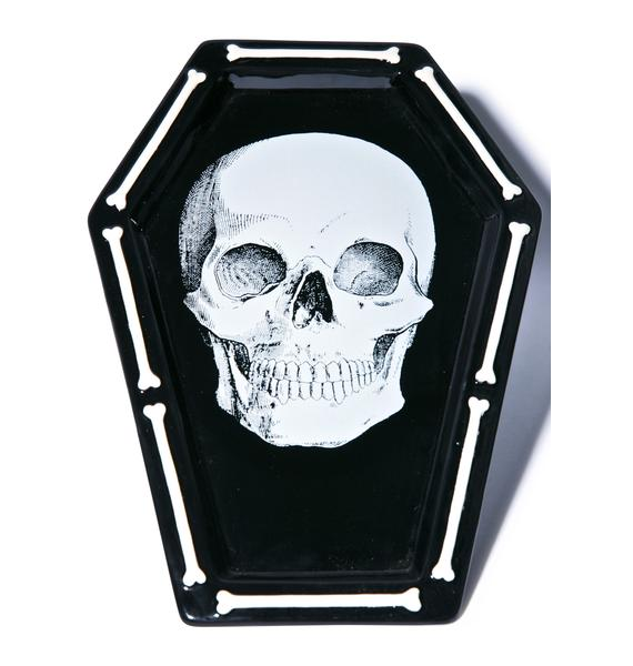 Sourpuss Clothing Skull Platter