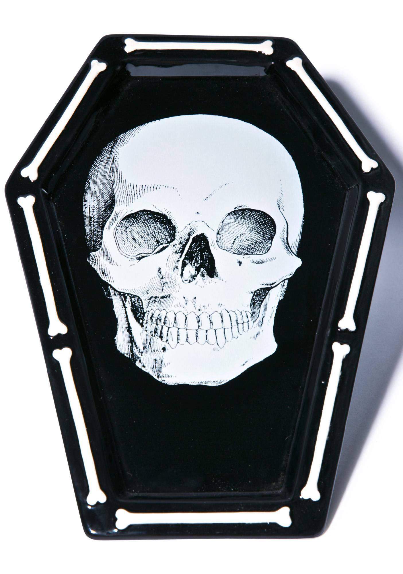 Sourpuss Clothing Skull Platter