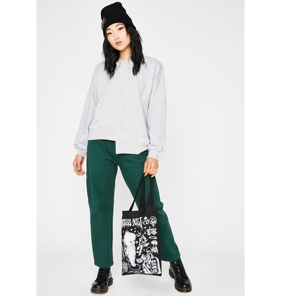Off-Kilter Pullover Sweatshirt