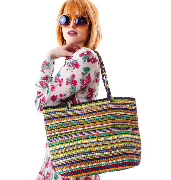 Tigerlily Pavi Beach Bag