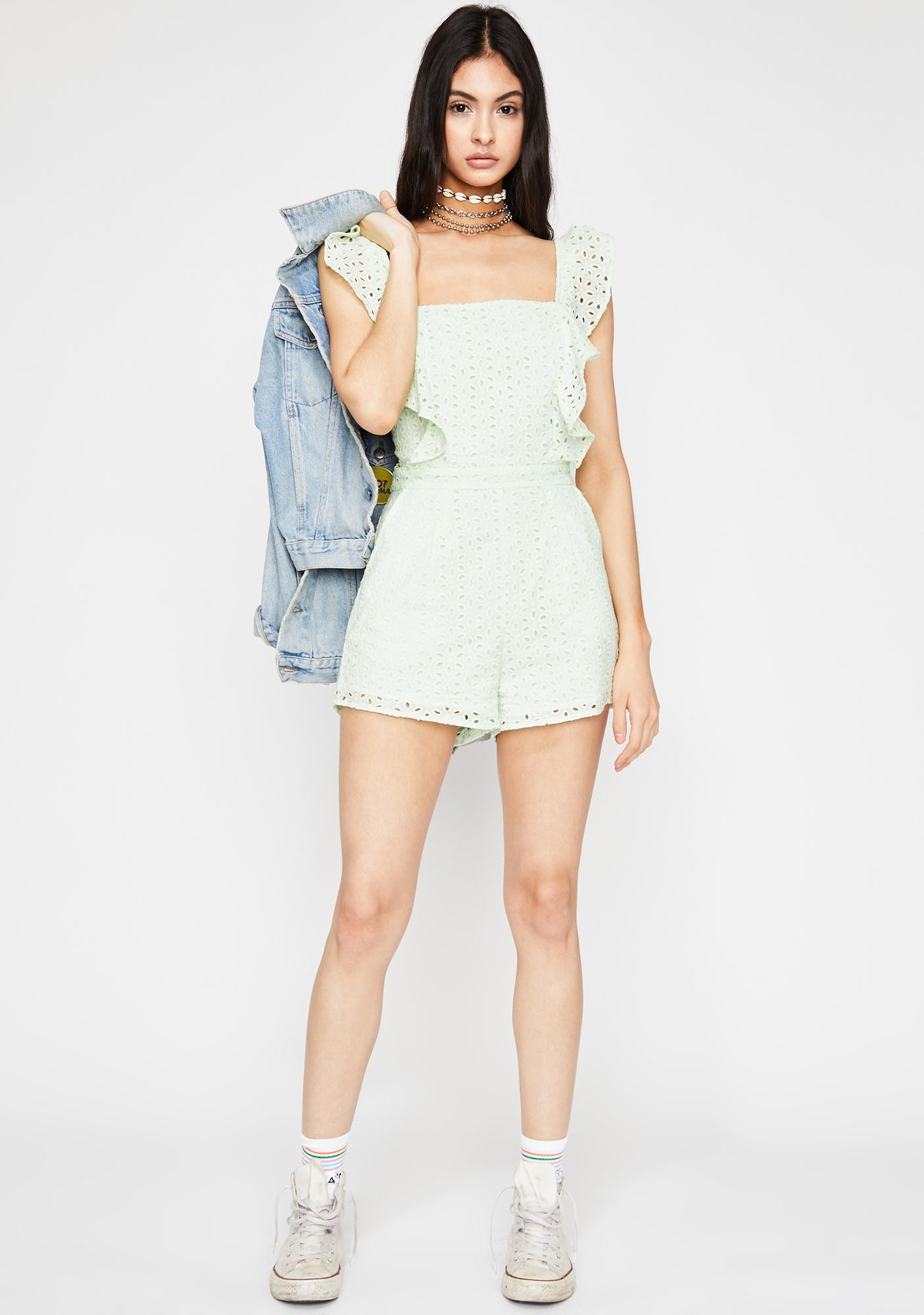 Day On The Lawn Romper