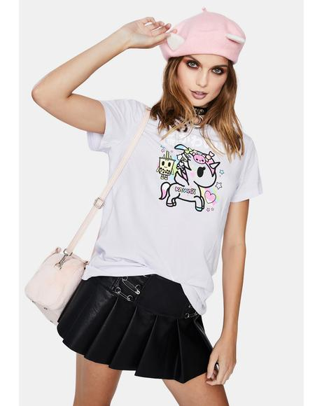 Harajuku Pony Short Sleeve Graphic Tee
