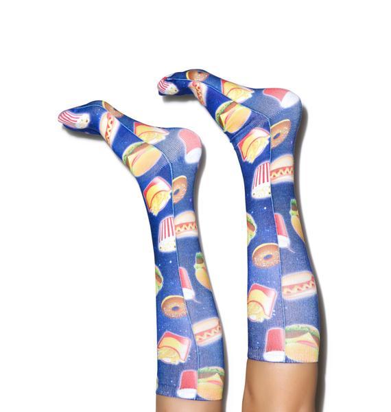 Eating Out Knee High Socks