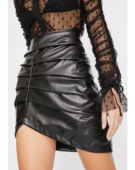 Liv Ruched Skirt