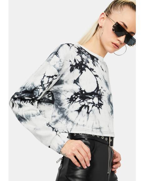 Natural Trendsetter Tie Dye Sweatshirt