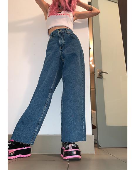 Grip Skater Wide Leg Jeans