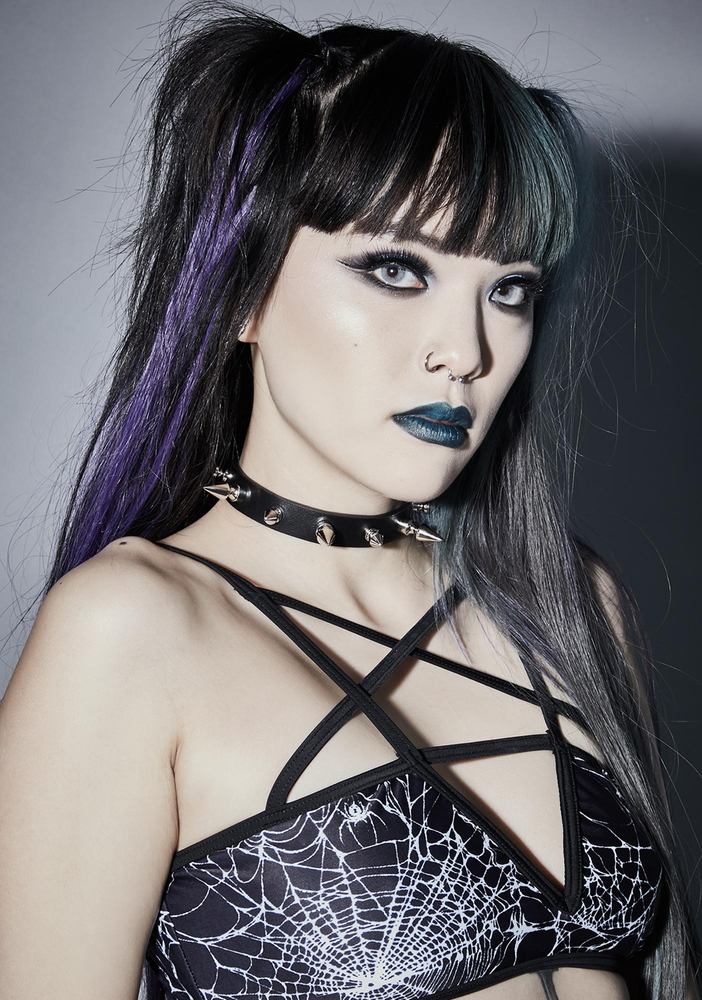 Funk Plus Sinful Pleasure Spike Choker