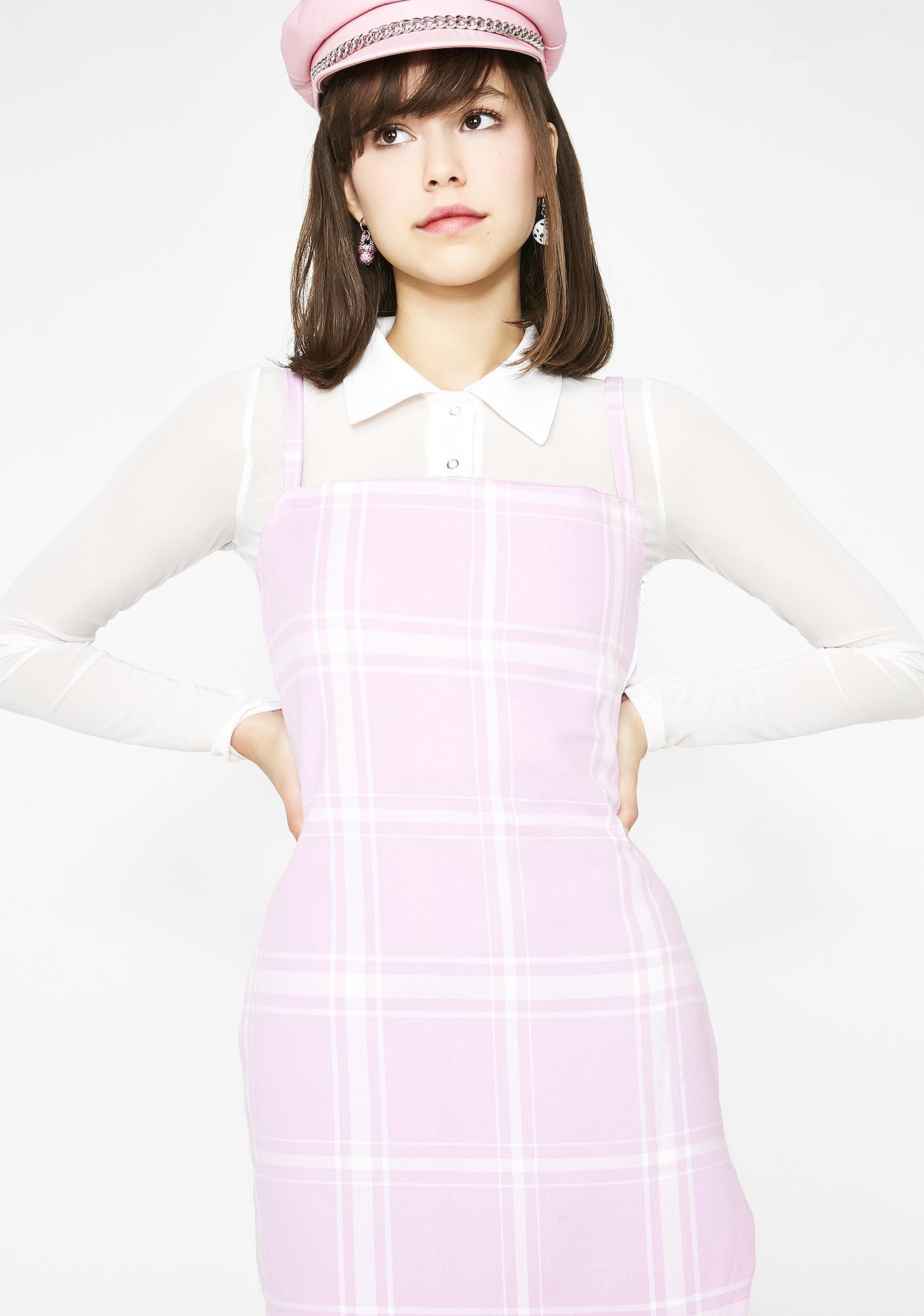 LOVE TOO TRUE Portia Midi Split Dress