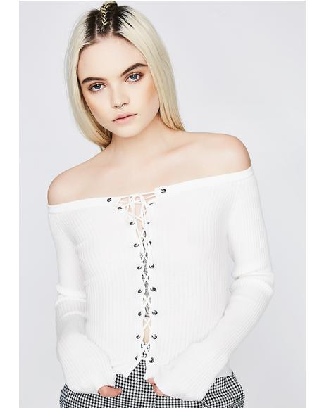 One Way Tix Off The Shoulder Top