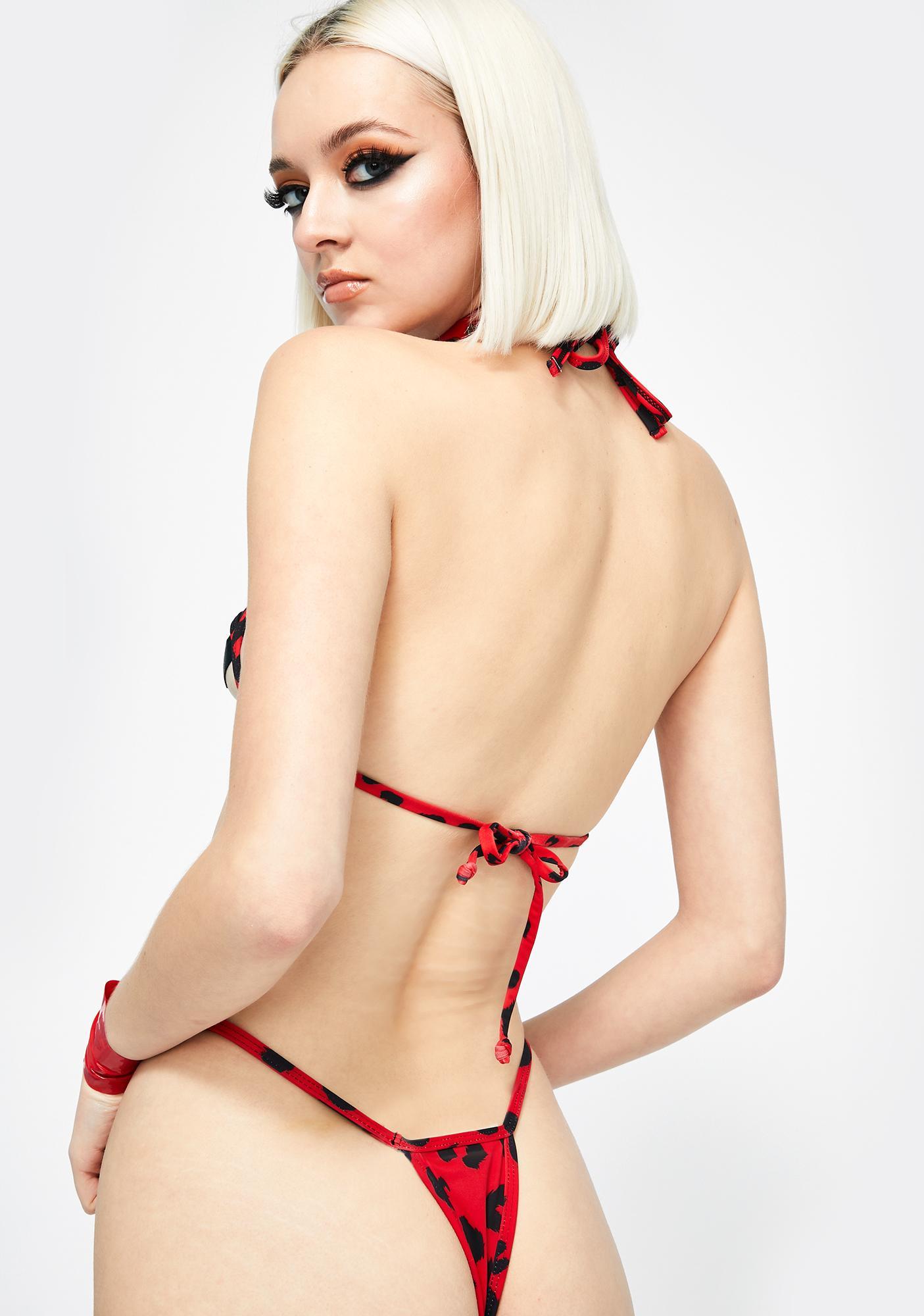 Candy Shop Lingerie The Kiera Cut-Out Bikini Set