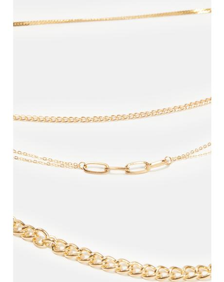 Being Honest Layered Chain Necklace
