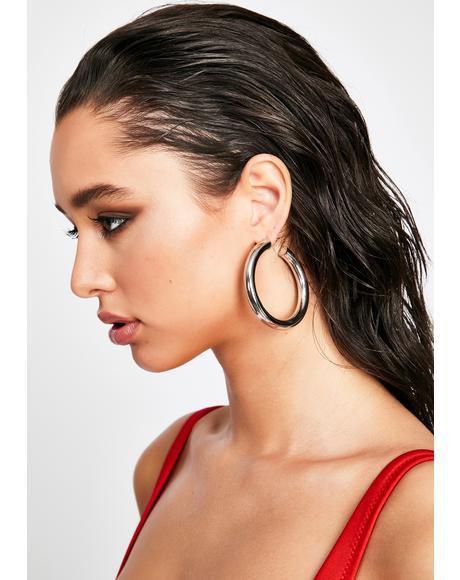 Like I Do Hoop Earrings