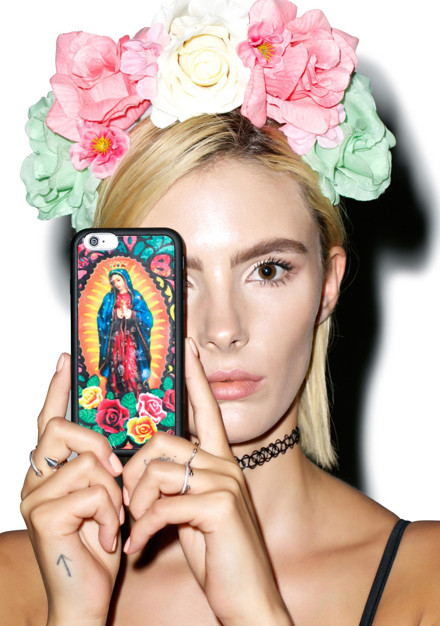 Wildflower Bless Up iPhone Case
