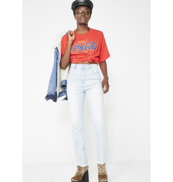 Rollas Dusters Light Wash Denim Jeans