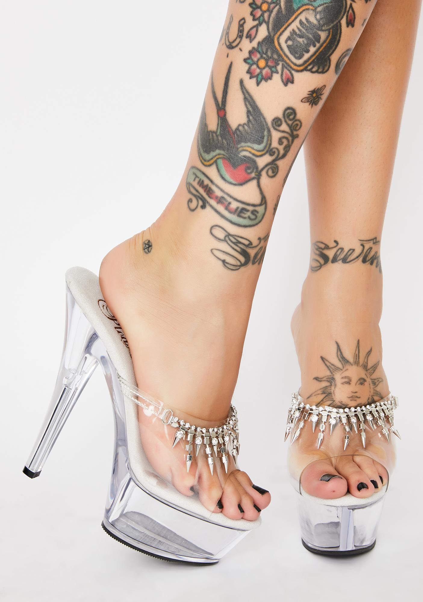 Pleaser Queen Bae Platform Heels