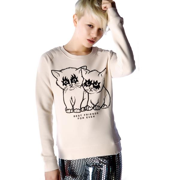 Zoe Karssen Best Friends For Ever Sweater