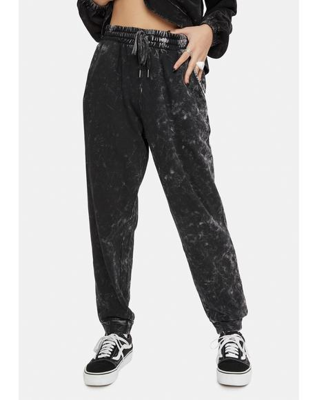 Carbon Copy Washed Joggers
