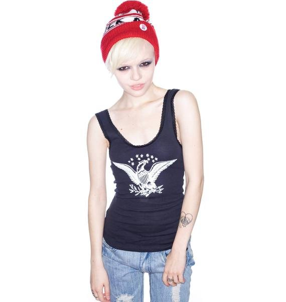 Bandit Brand Eagle USA Lace Tank