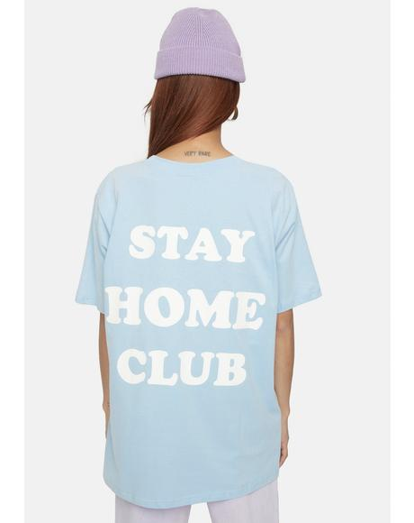 Stay Home Club Graphic Tee