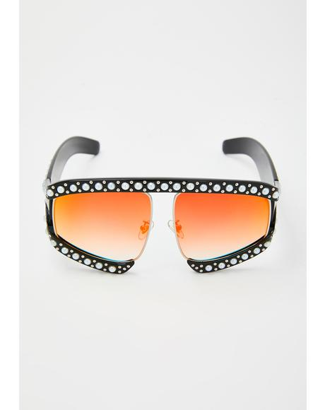 Sunset Strip Oversized Sunglasses