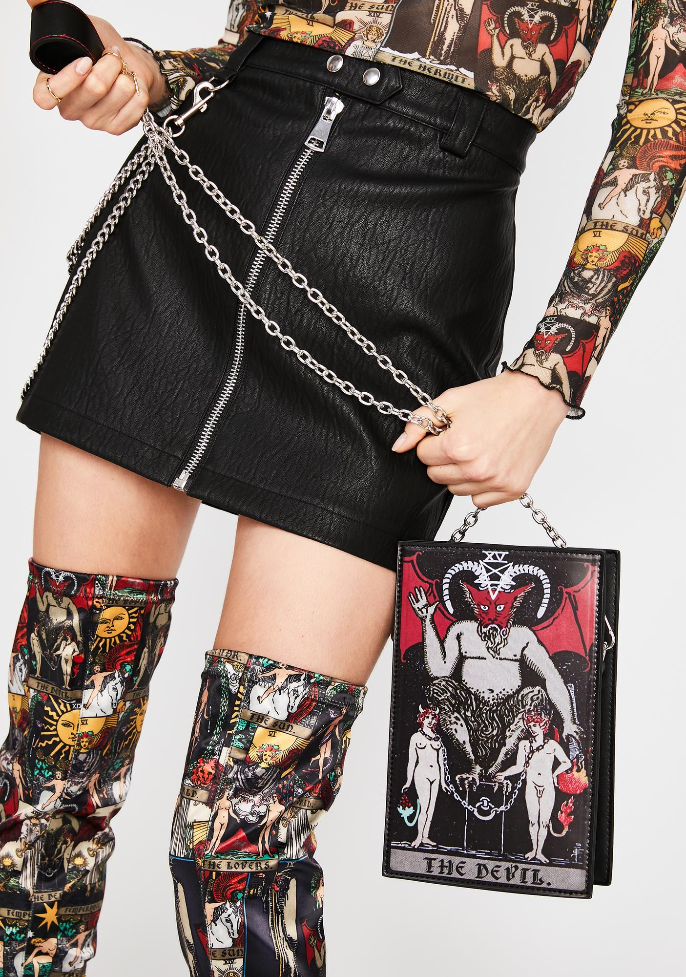 HOROSCOPEZ Sly N' Sinister Crossbody Bag