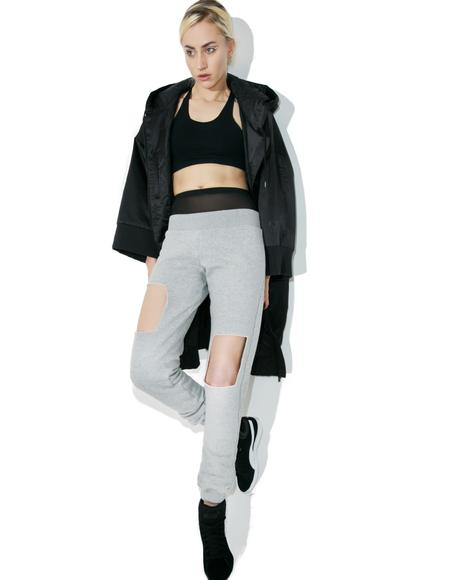 Layer Up Cut-Out Joggers