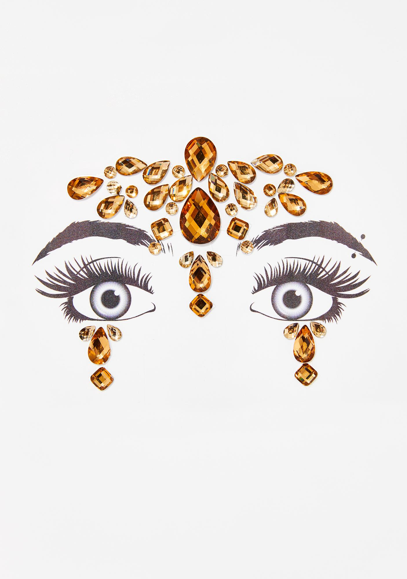 Golden Temple Face Gems