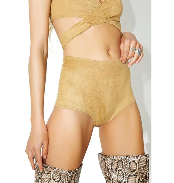 J Valentine Nectar N' Honey High Waist Shorts