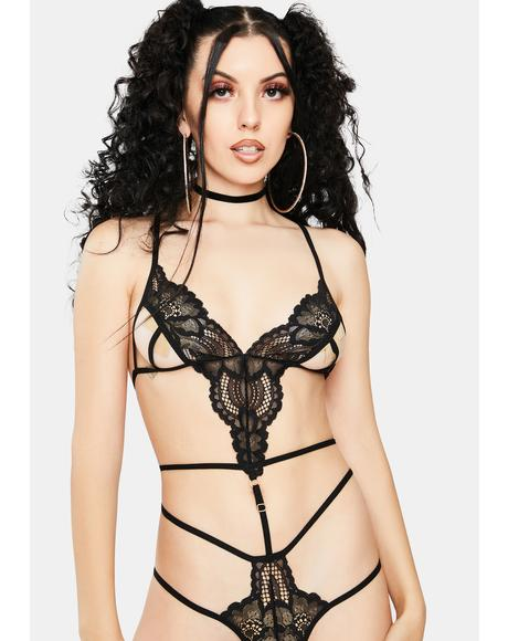 Surprising Seduction Lace Teddy