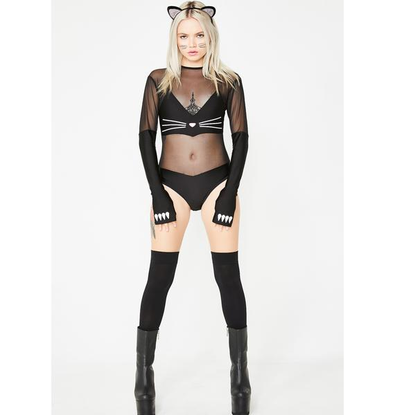 Sly Kitty Bodysuit Costume