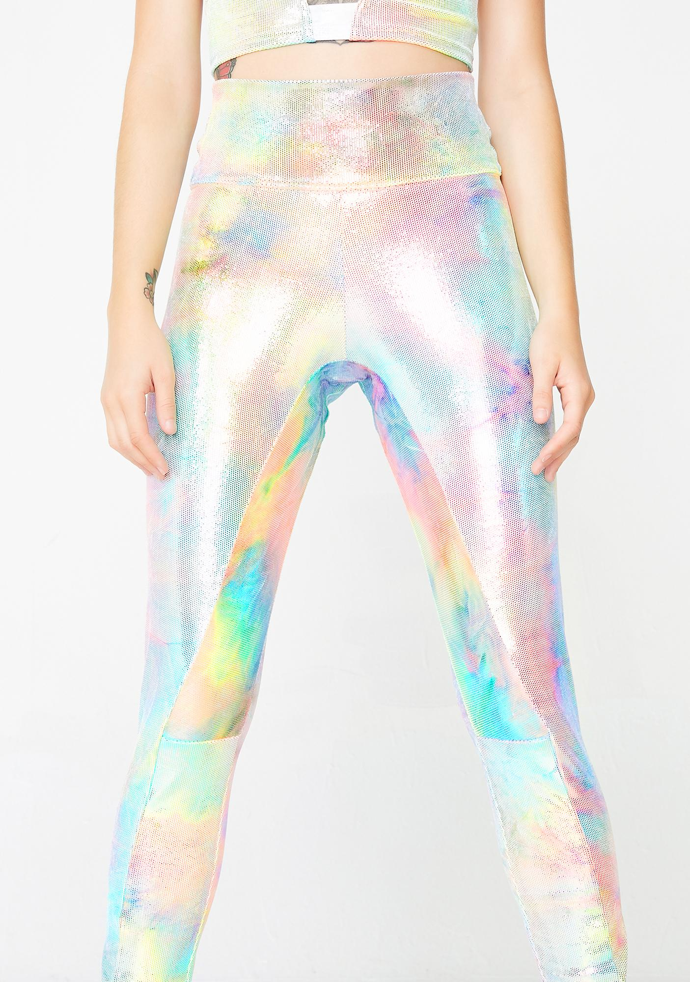 MolliPop Glow Mystic Tie Dye Leggings