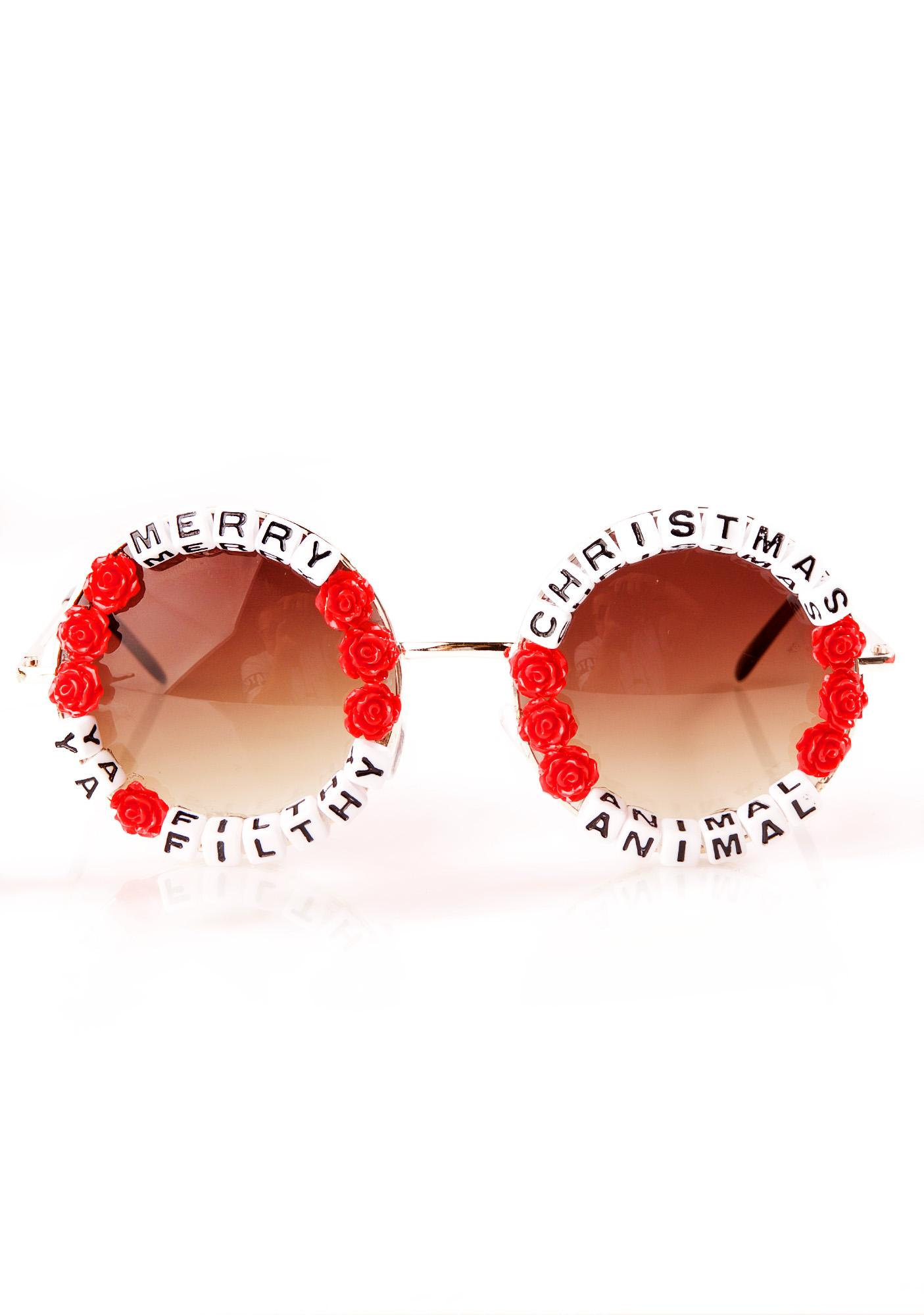 Rad and Refined Ya Filthy Animal Sunglasses
