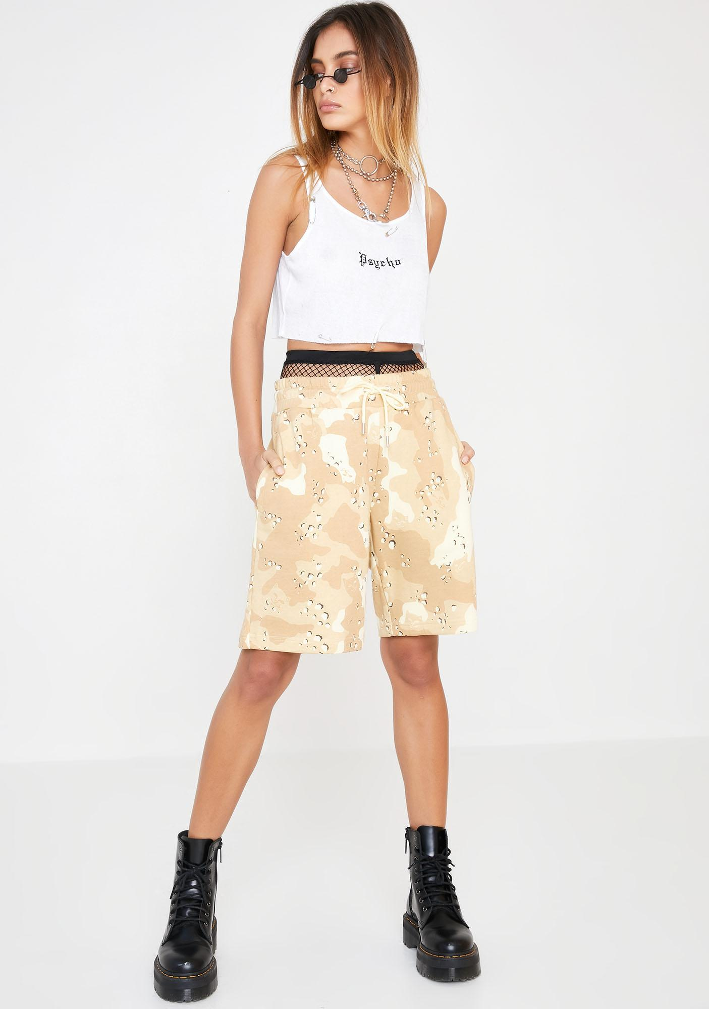 RIPNDIP Nerm Camo Sweat Shorts