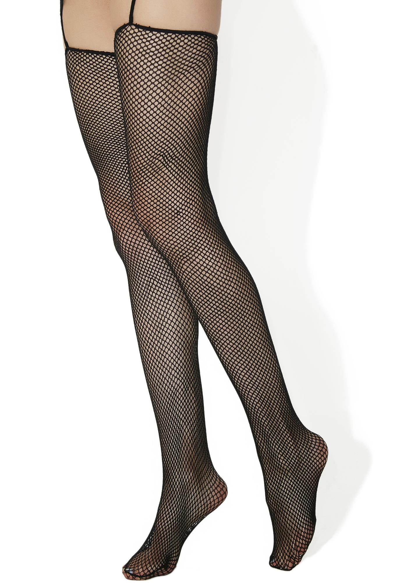 True Fiction O-ring Hooded Bodystocking