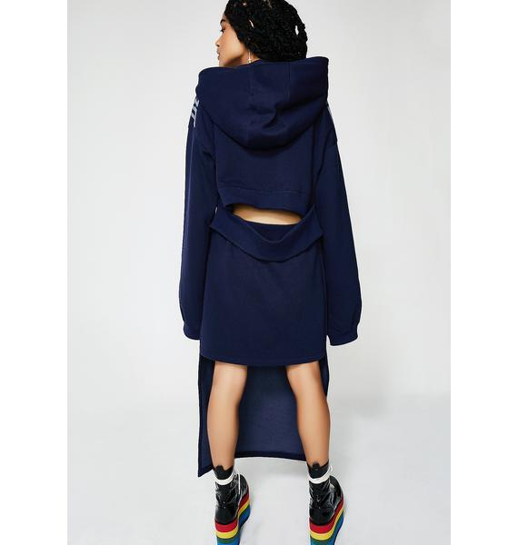 PUMA FENTY PUMA By Rihanna Spilt High-Low Hoodie