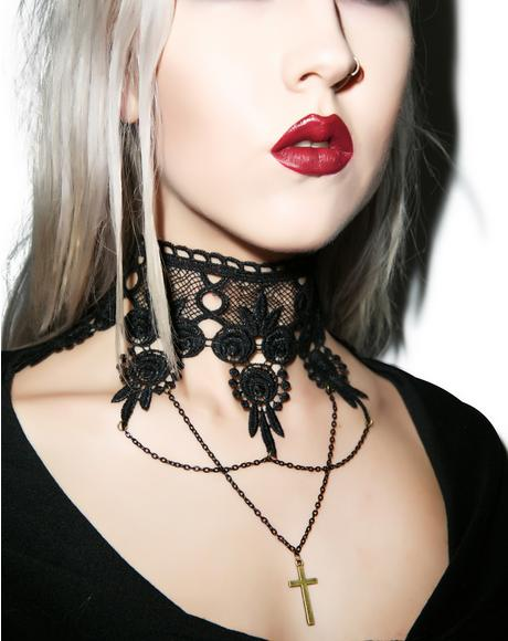 Persephone Lace Necklace