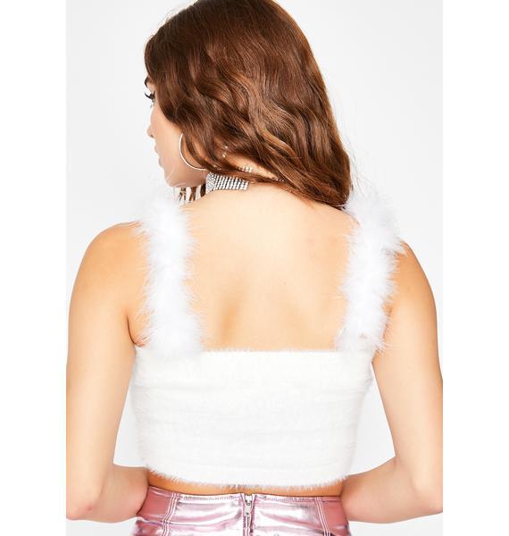 Warm N' Fuzzy Crop Top
