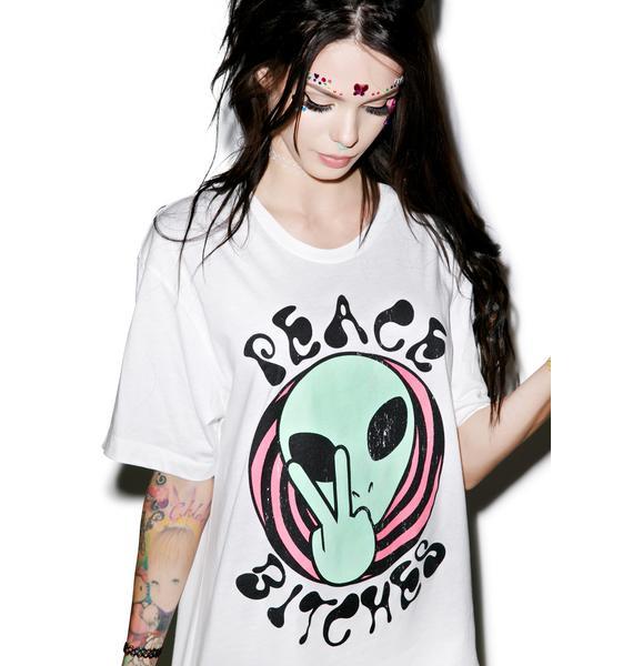 Kill Brand Peace Bitches Tee
