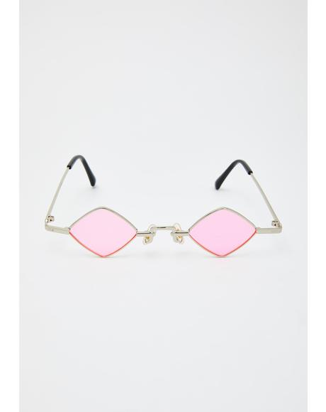 Sugar Half Baked Tiny Chain Sunglasses