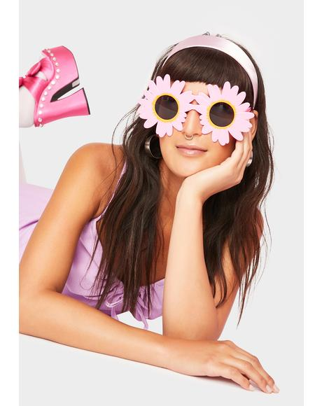 Big Bloom Flower Sunglasses