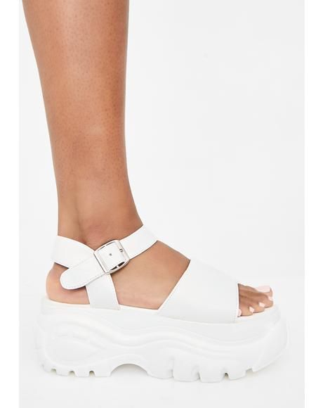Angel Come Correct Platform Sandals