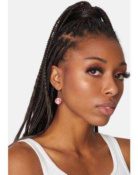 Don't Think Twice Dice Earrings
